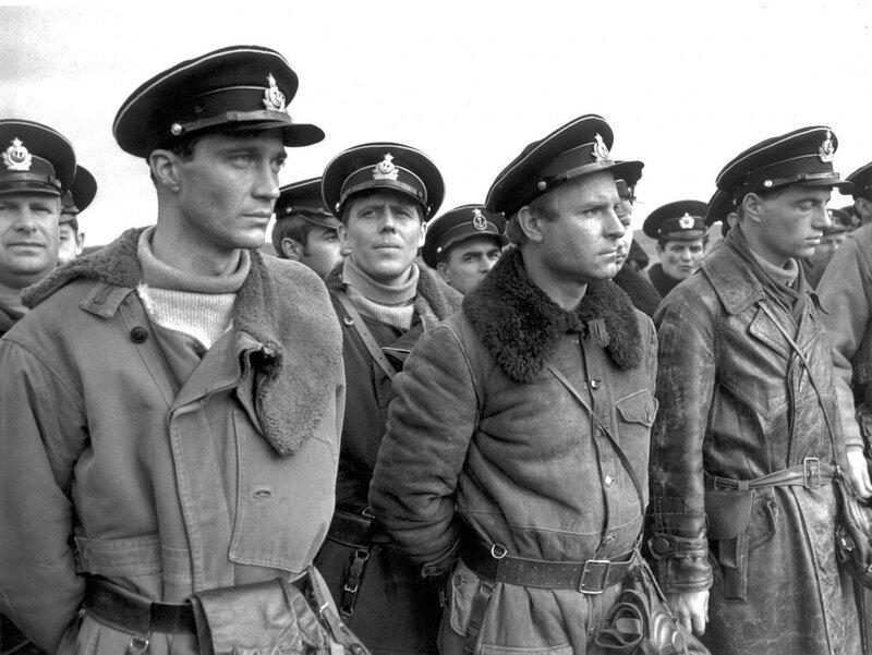 "На съемках фильма ""Торпедоносцы"". Североморск, 1983 год."