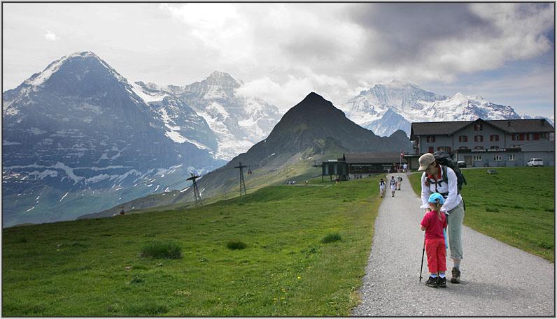 10 дней в Бернских Альпах (для любителей побродить по горам)