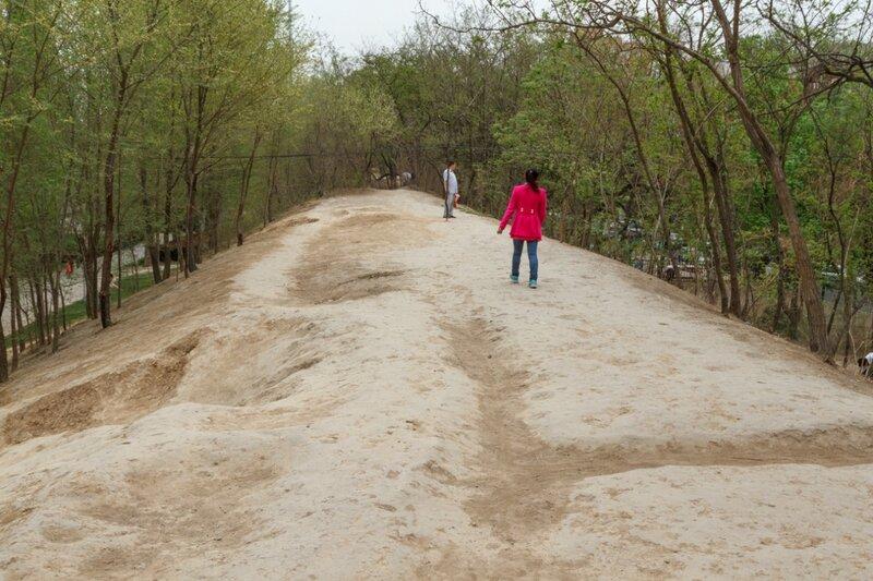 Крепостной вал, парк стены династии Юань, Пекин