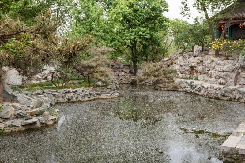 Озеро, парк Дагуаньюань, Пекин