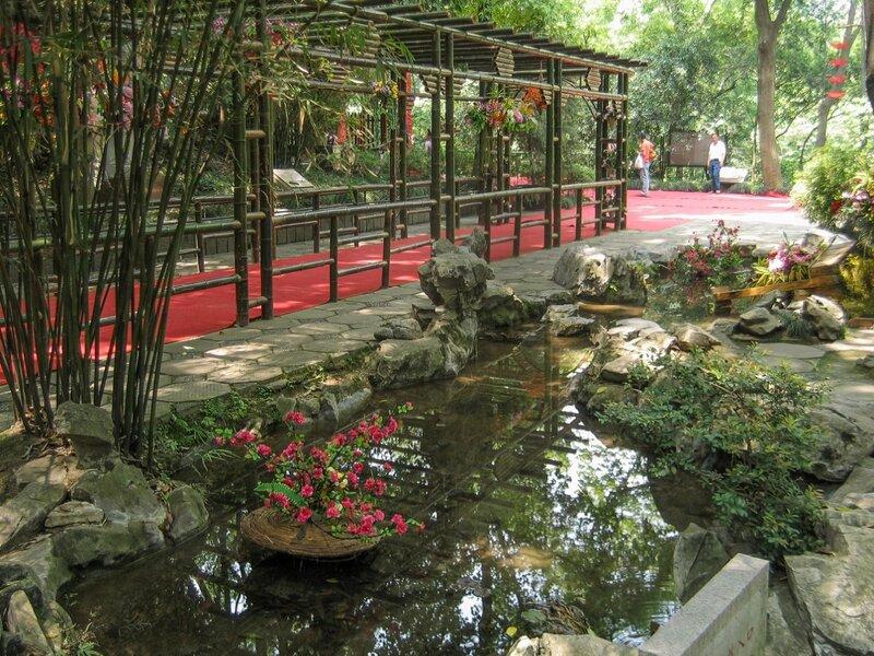 Пергола в саду, Пагода Шести гармоний, Люхэта, Ханчжоу