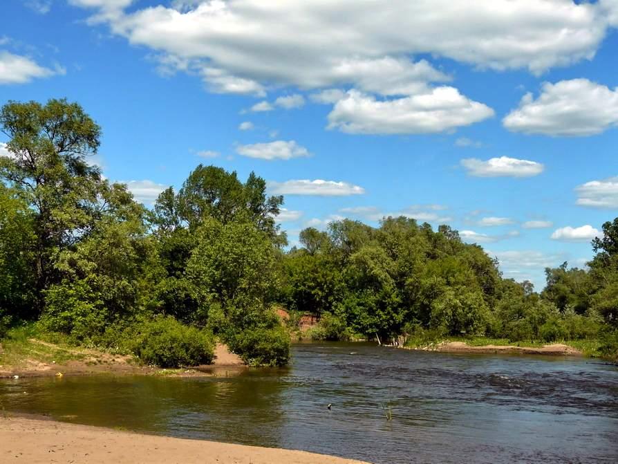 Река Сок, сплав, рыбалка