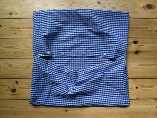 Что можно сделать из старой рубашки.