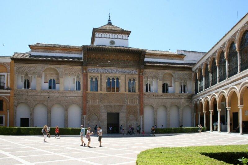 Севилья, Дворец Алькасара