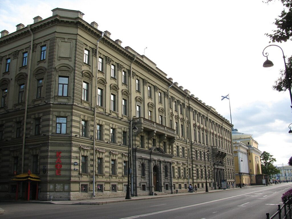 Адмиралтейская наб., дома №12 и 14