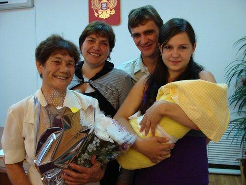 Семья Моралёвых — Екатерина Александровна и Роман Николаевич