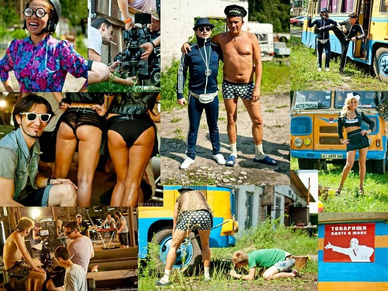 """На днях группа  """"Скрябин """" отсняли видео на песню  """"Маршрутка """".  Сюжет предсказуем, но результат всего того..."""