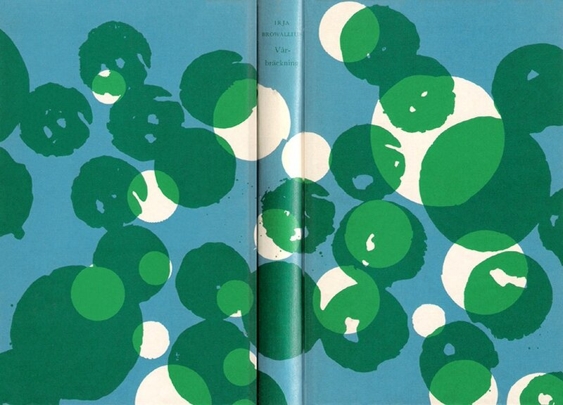 Graphic book covers.Irja Browallius,1962