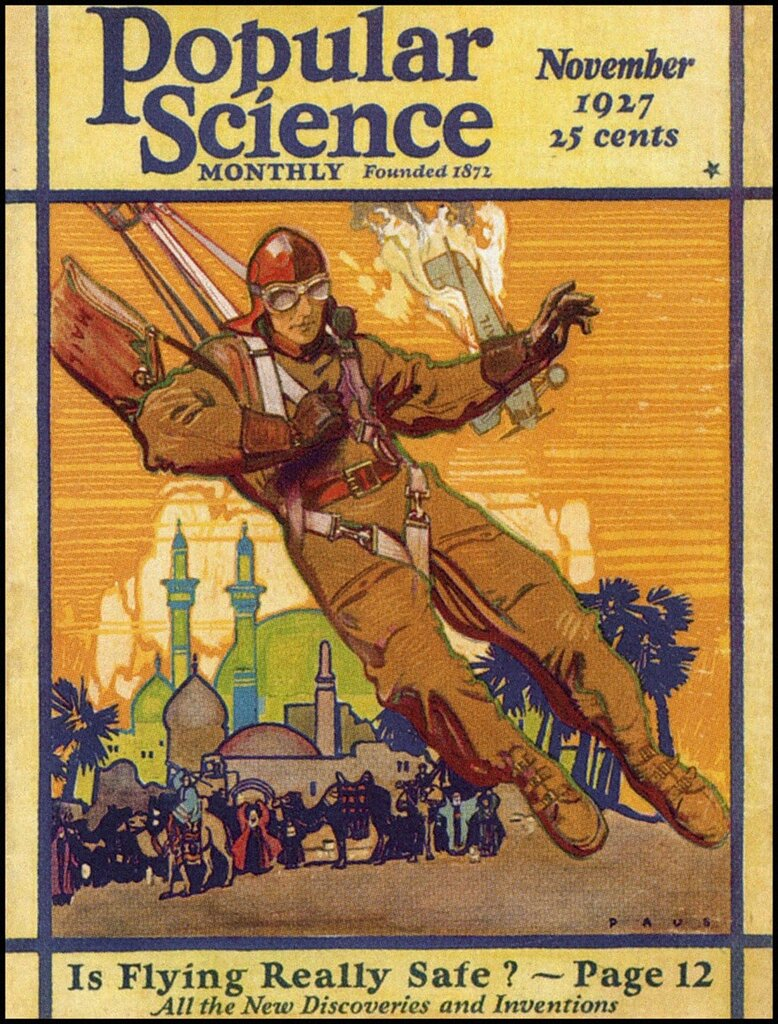 Herbert Paus Popular Science 1927