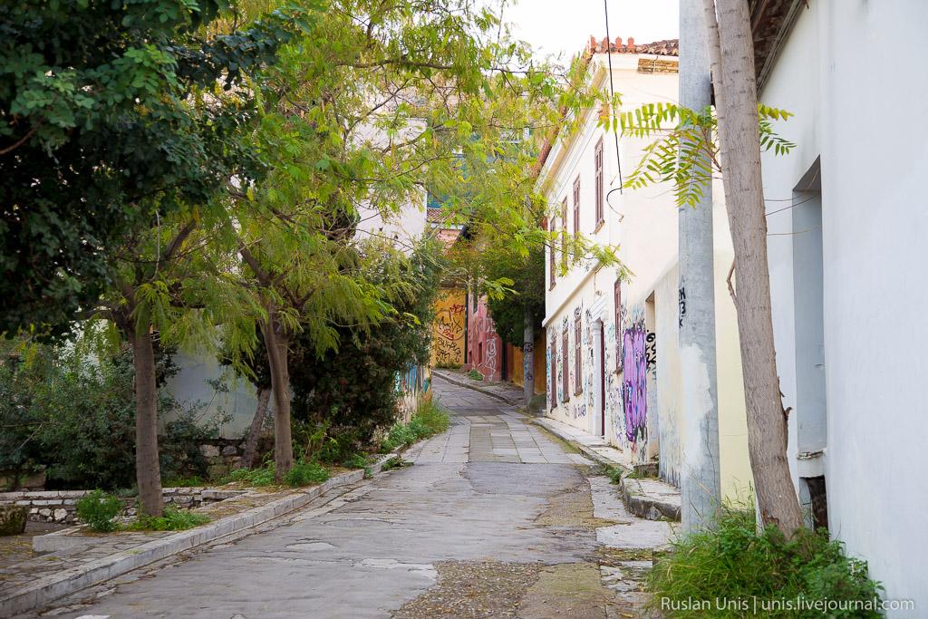Путешествие на машине по Греции