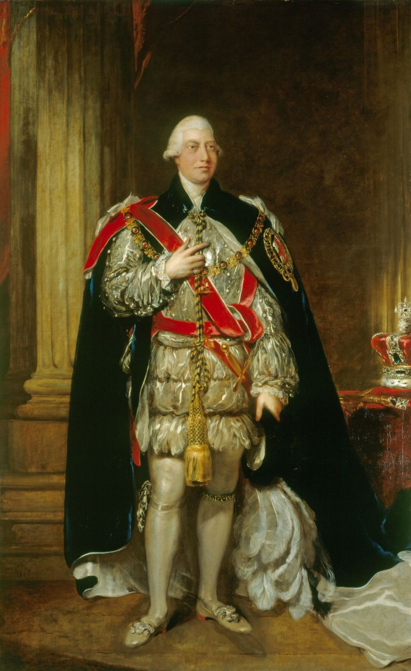 Gainsborough Dupont (1754-1797)George III (1738-1820) Before 23 Apr 1795