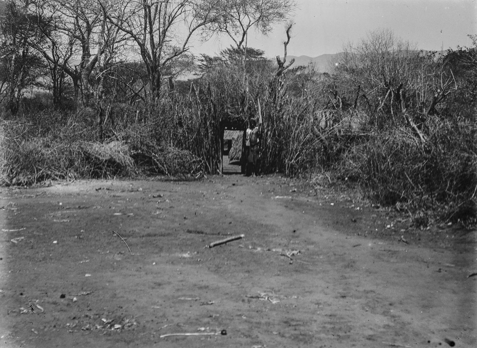251. Вход в деревню в районе гор Паре