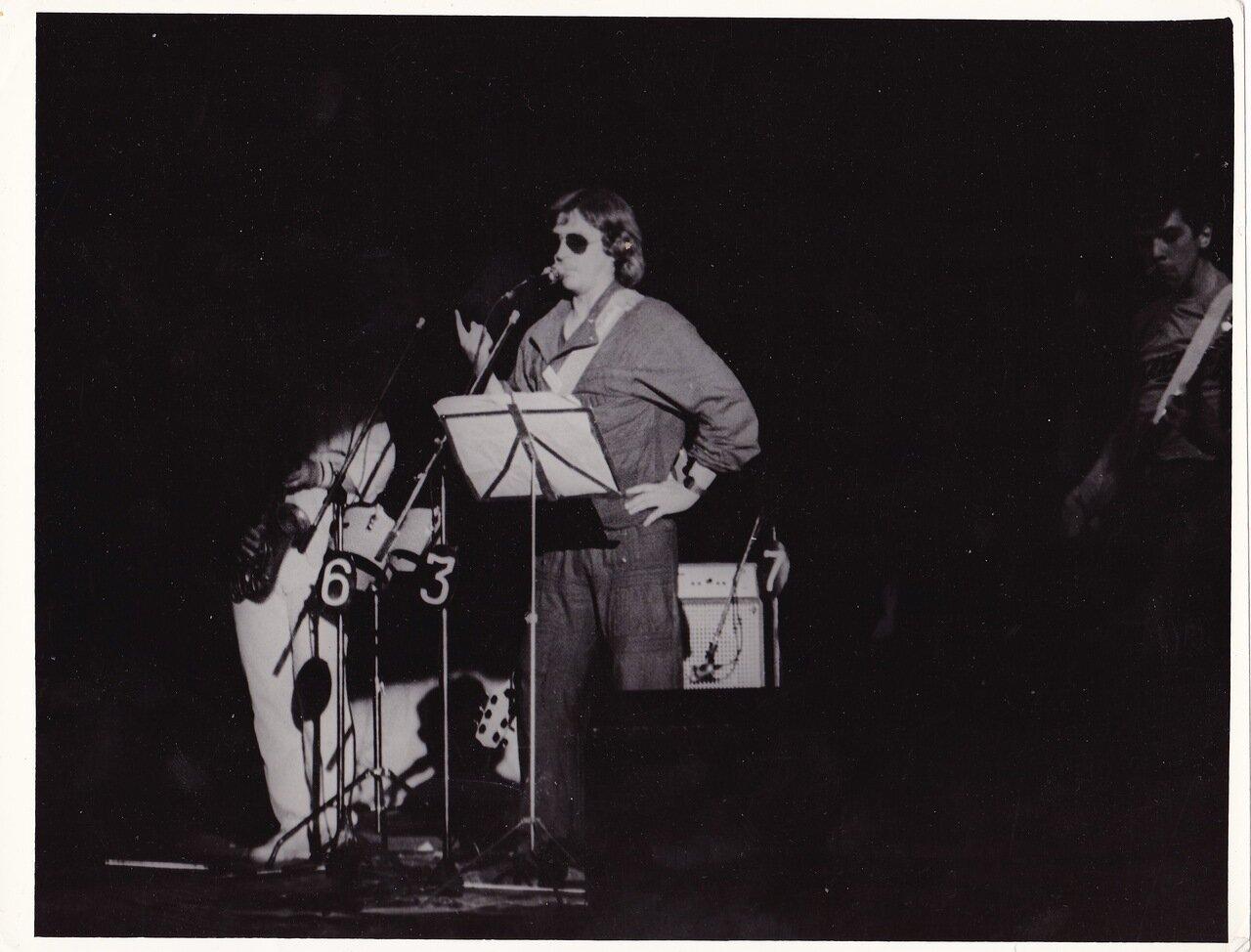 1986. Концерт Майка Науменко в Ангарске