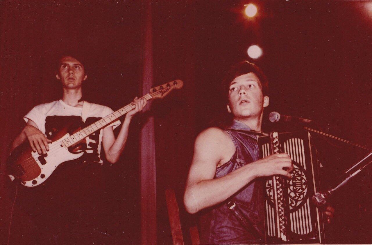 1988. Группа «Ноль» в Ангарске