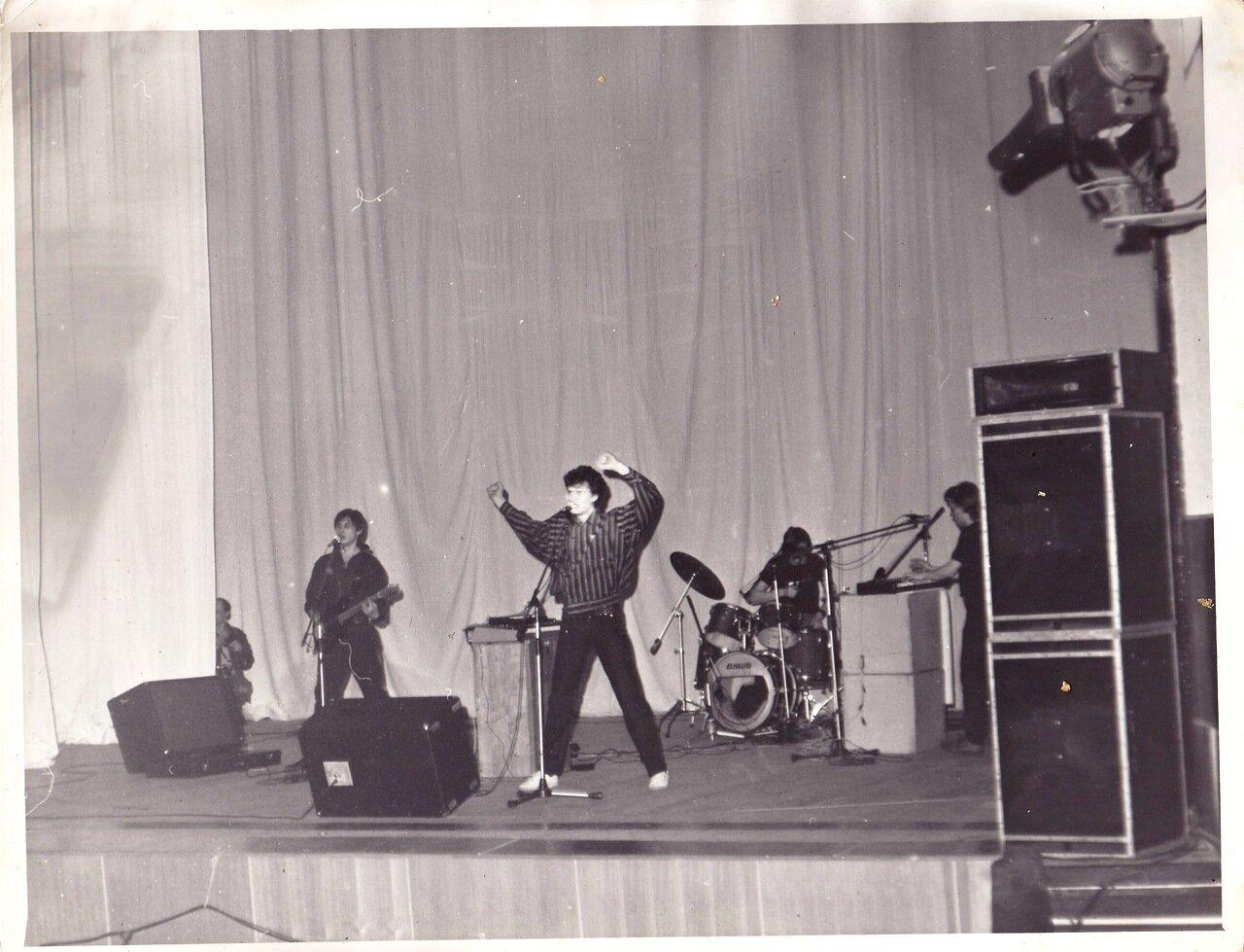 1987. Выступление группы «Телевизор» в Ангарске