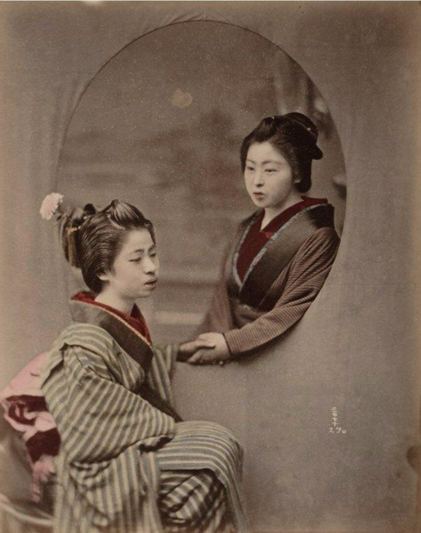 Начинающие гейши. 1885