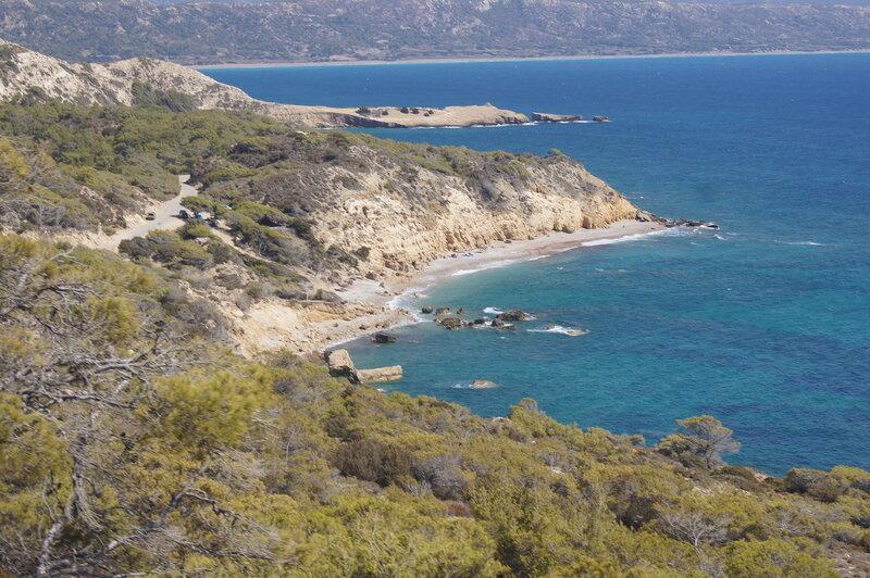 Alyki beach. Родос. Греция.