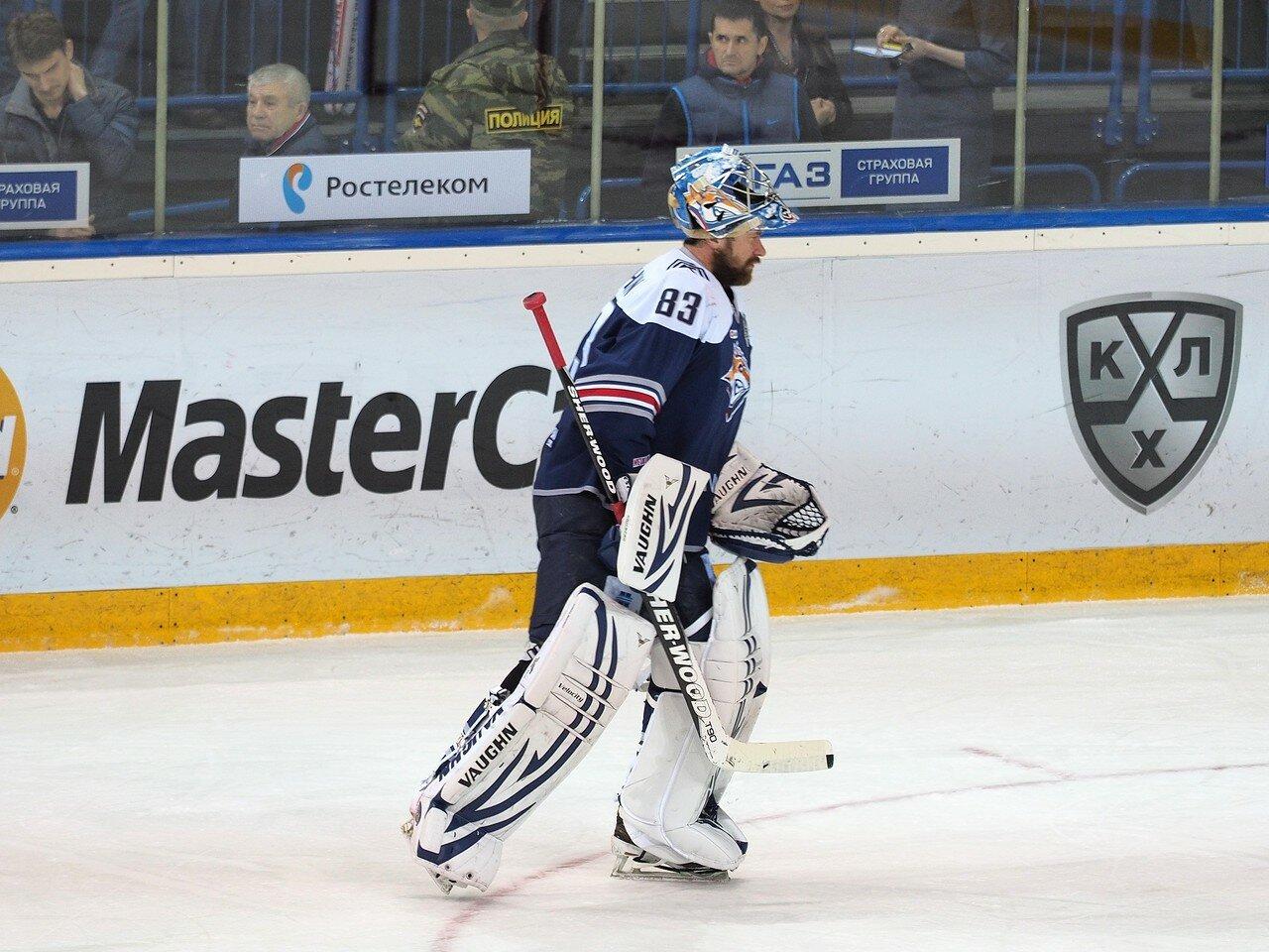 Финал плей-офф 2016 Металлург - ЦСКА 11.04.2016