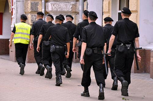 В Бельцах свежее пополнение карабинеров приняло присягу