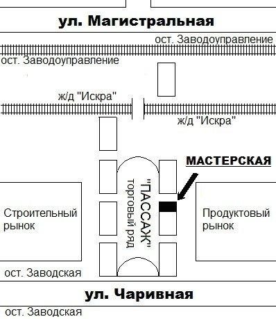 План-схема, карта
