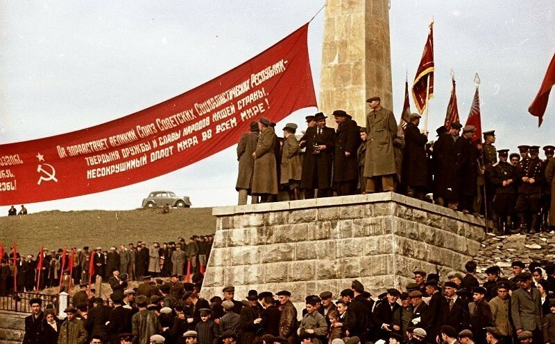 1951, 4 ноября, Открытие Верхне-Самгорского магистрального канала. Владислав Микоша4.jpg