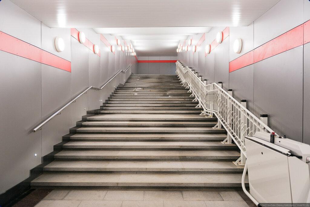 Лестница и подъёмник для инвалидов