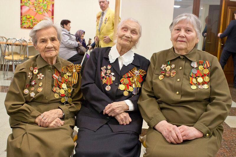 Женщины фронтовички