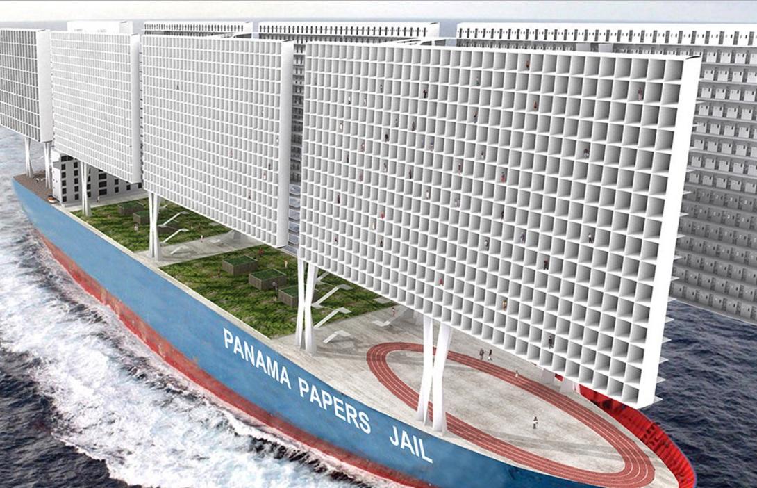 Архитекторы создали плавающую тюрьму встиле «Игры престолов»