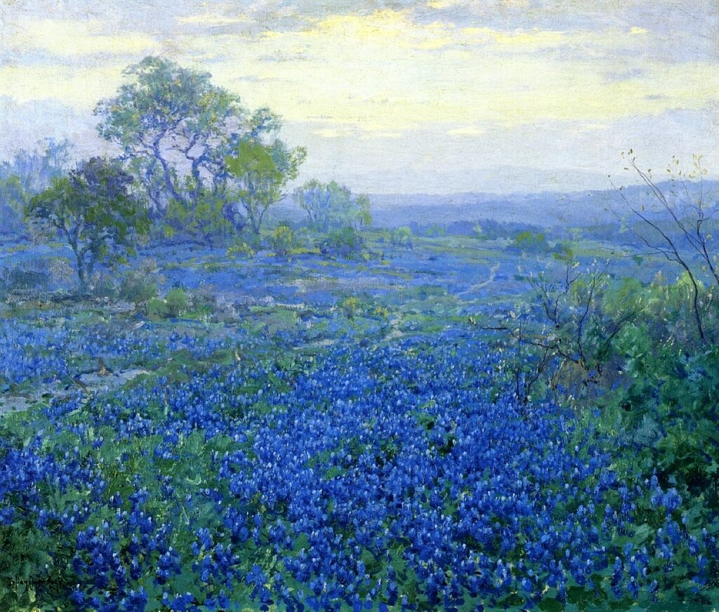 A Cloudy Day, Bluebonnets near San Antonio, Texas, 1918.jpeg