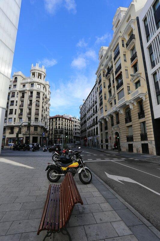 Мадрид. Улица Мехия Лекерика (Calle de Mejía Lequerica)