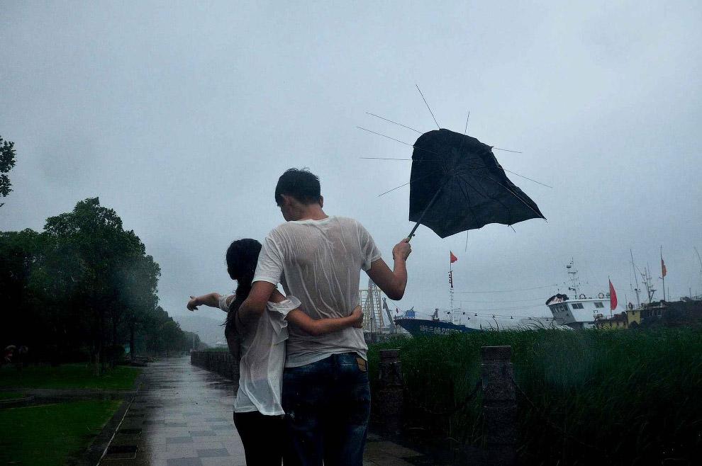 8. Тайфун Чан-хом в Китае, 10 июля 2015.