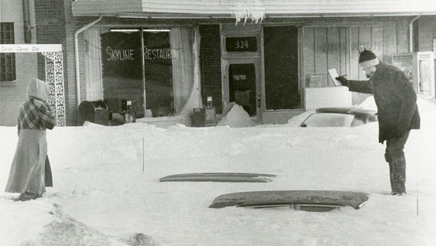 2. Онтарио и Квебек, Канада 1971 — 61 сантиметр снега Эту бурю прозвали «Восточно-канадская метель 7