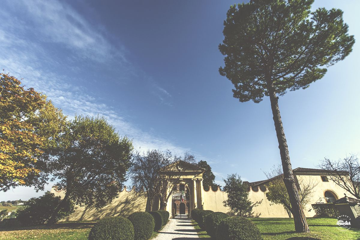 Villa Vescove. Abano Terme.