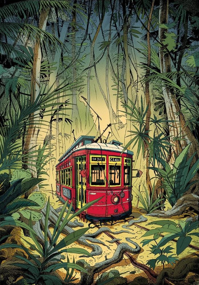 Путешествие в Новый Орлеан с Ольвье Боном