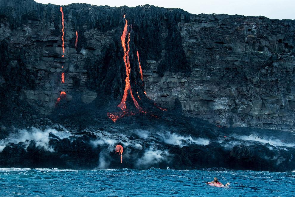 8. Килауэа считается местом обитания гавайской богини вулканов, которую зовут Пе?ле.