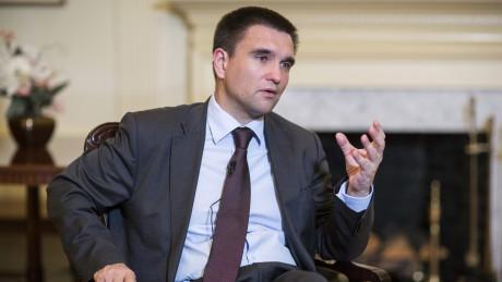 Климкин призвал украинцев воздержаться отпоездок в Российскую Федерацию