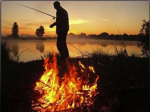 поход на рыбалку с ночёвкой