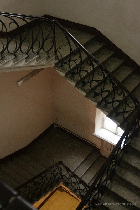Лестница, Саратов, консерватория, 21 декабря 2016 года