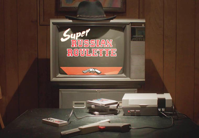 Super Russian Roulette - A new game of Russian roulette arrives on the NES