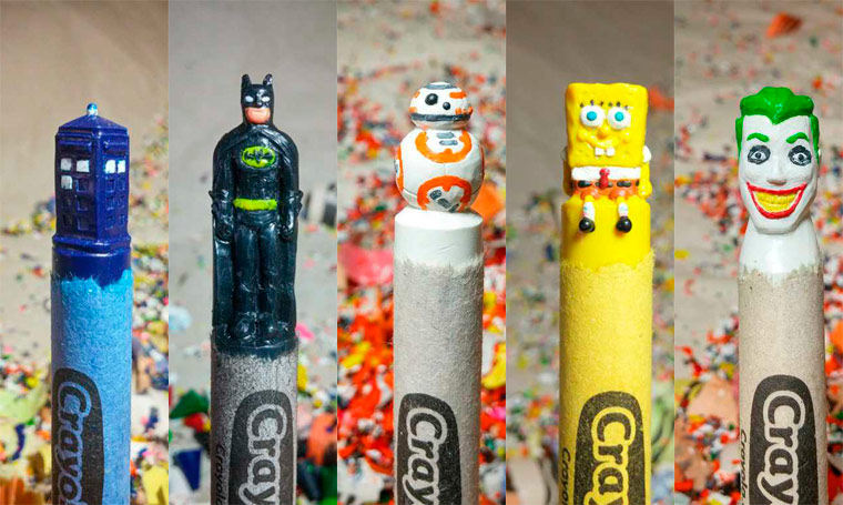 Pop Culture and Crayola – The latest adorable carved pencils by Hoang Tran (34 pics)
