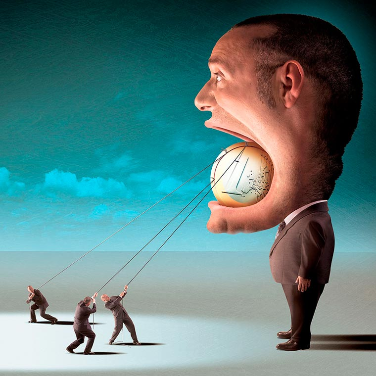 System Failure - The dark and satirical illustrations by Igor Morski