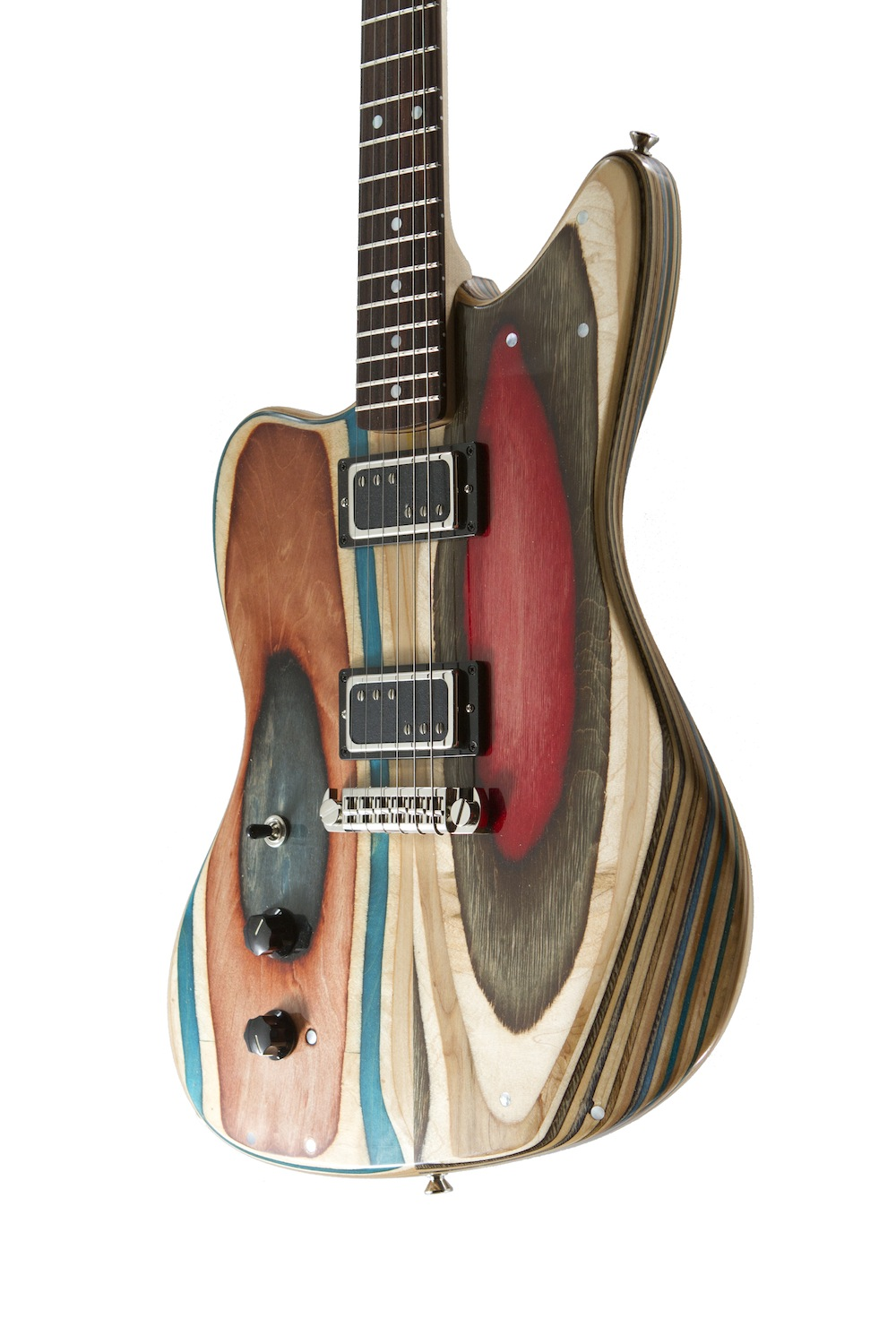 San Francisco-Based Company Builds Guitars From Recycled Skateboard Decks
