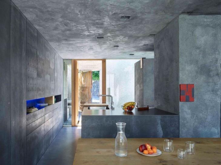 Concrete House by Wespi de Meuron Romeo Architects