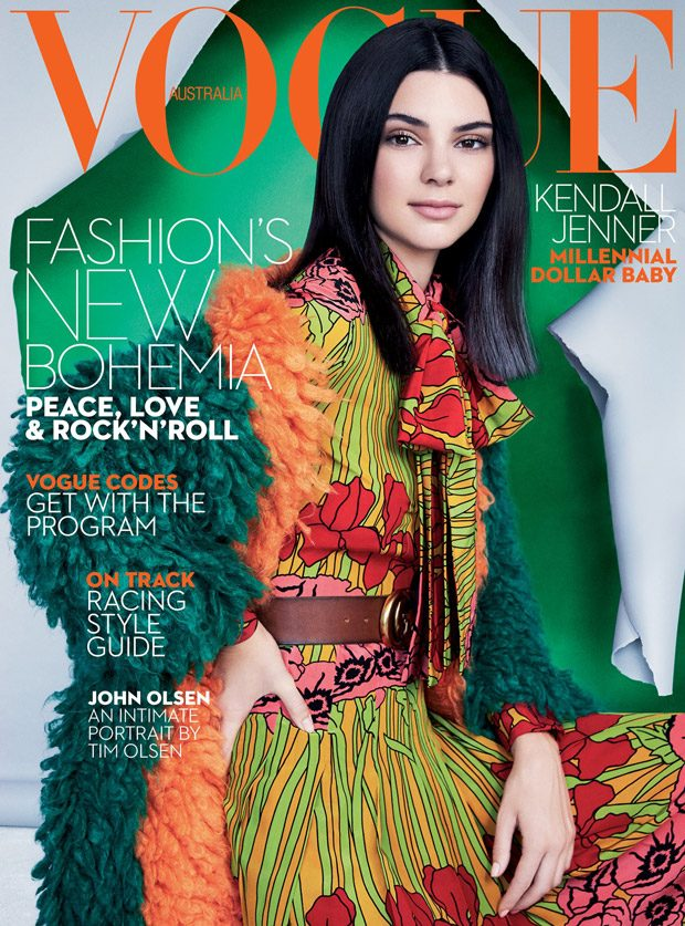 Kendall Jenner Covers Vogue Australia October 2016