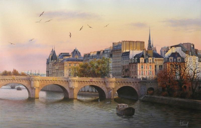 Париж  Тьерри  Дюваля.