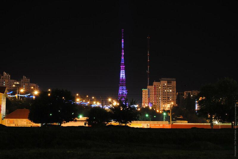 Ночной Белгород 2014, фото Sanchess