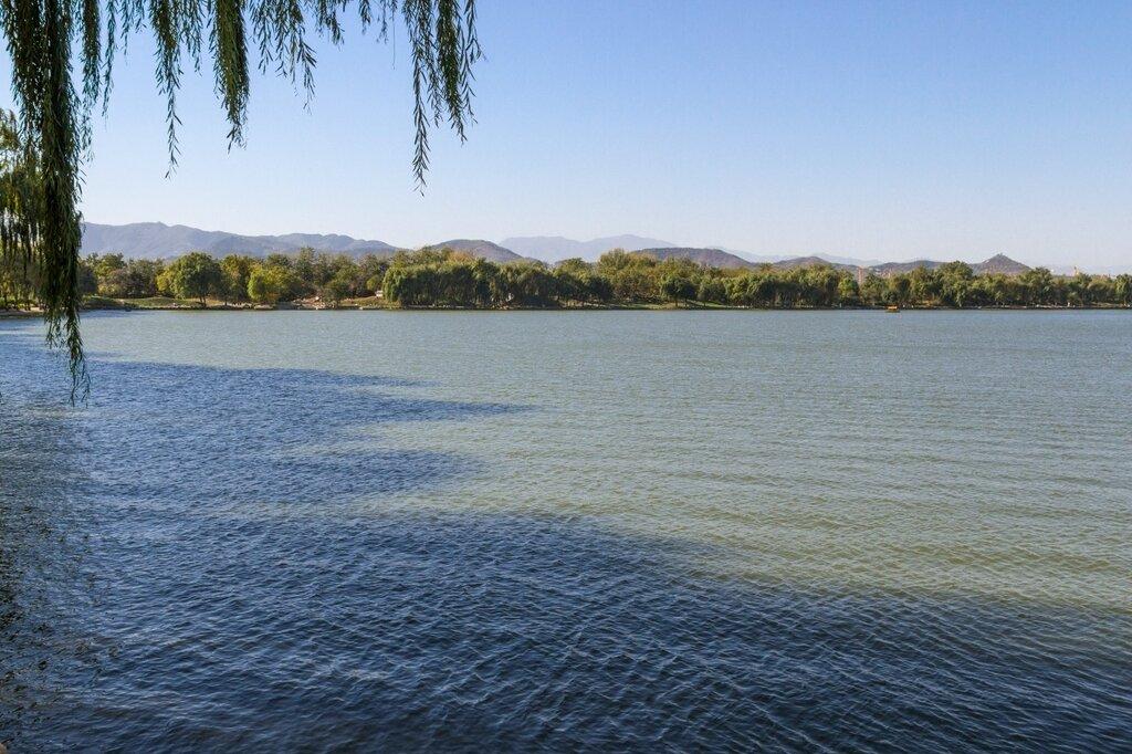 озеро Фухай, парк Юаньминъюань, Пекин