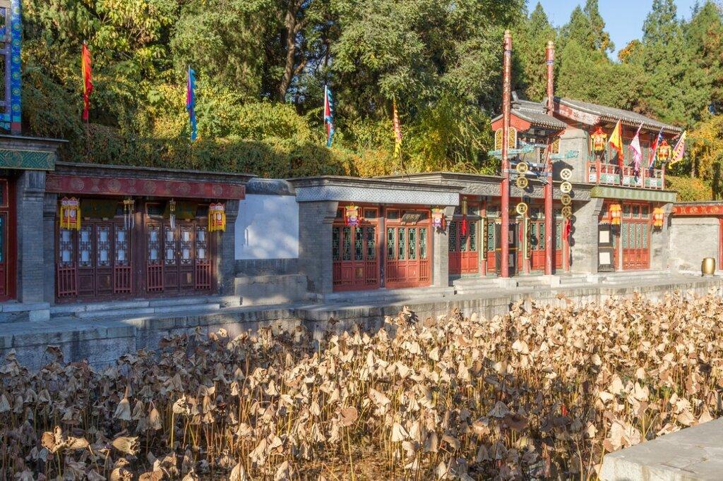 парк Ихэюань, улица Сучжоу, Летний императорский дворец, Пекин