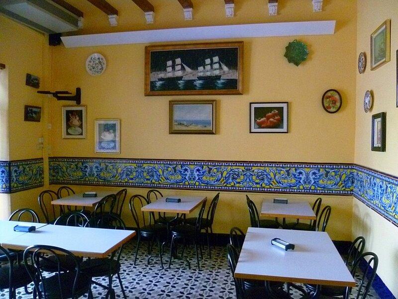 Кафе в Испании (Cafe in Spain)