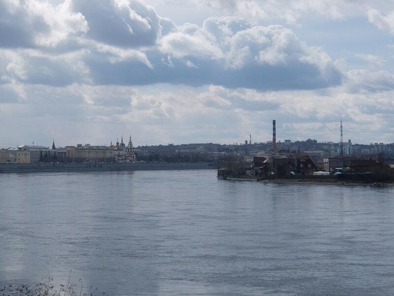 Иркутск - Вид на Ангару